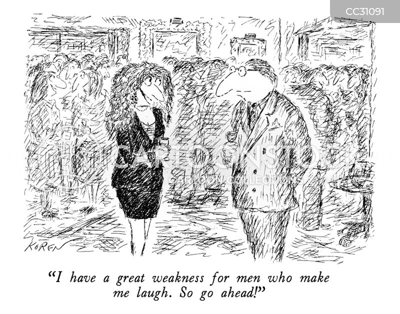 pick-up line cartoon