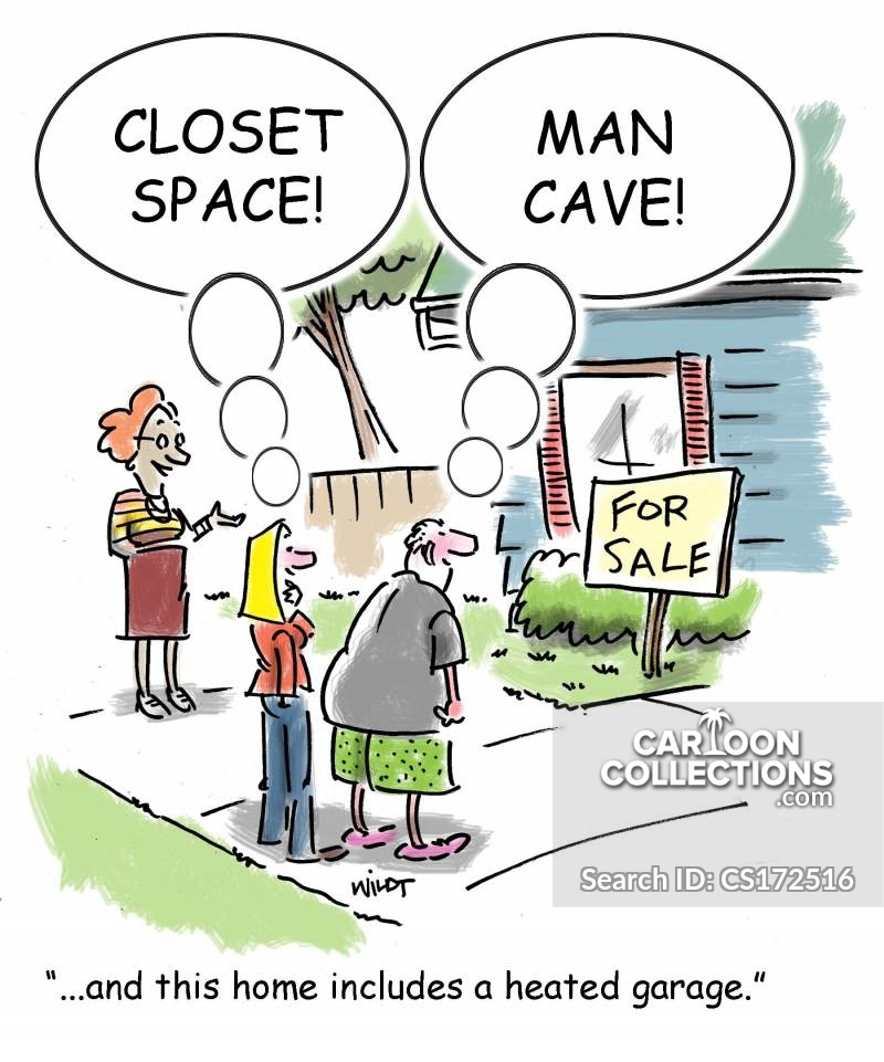 Closet Space cartoon