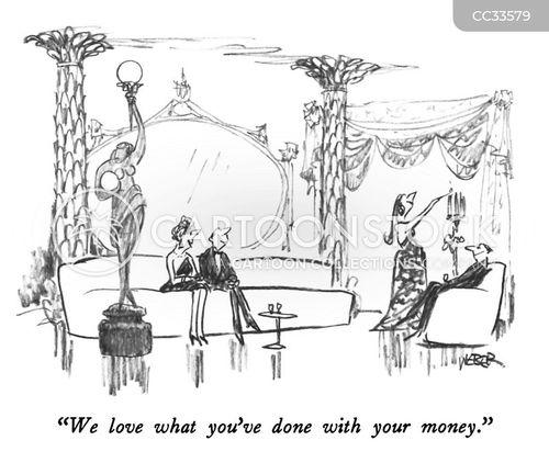 invests cartoon
