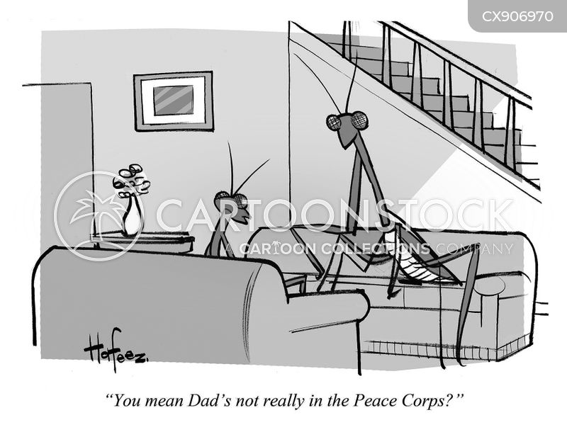peace corps cartoon