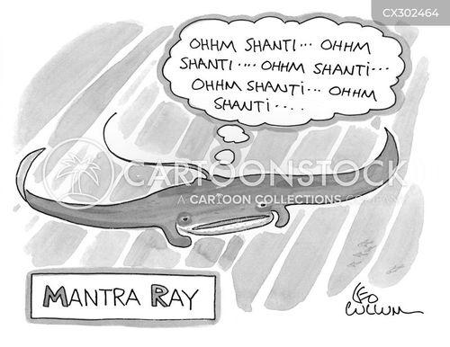 mantras cartoon