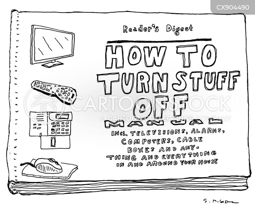 manual cartoon