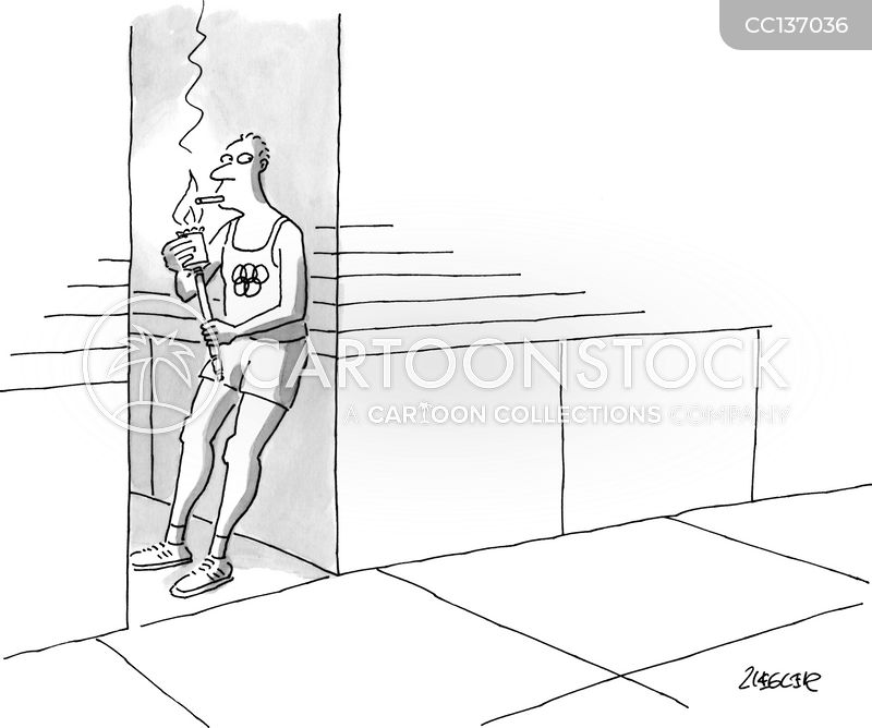 International Sport cartoon