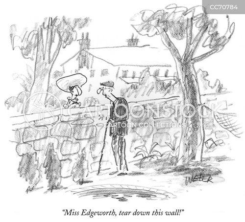 walls cartoon