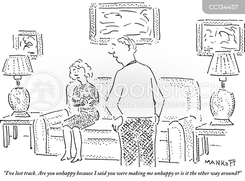 Unhappy Marriages cartoon