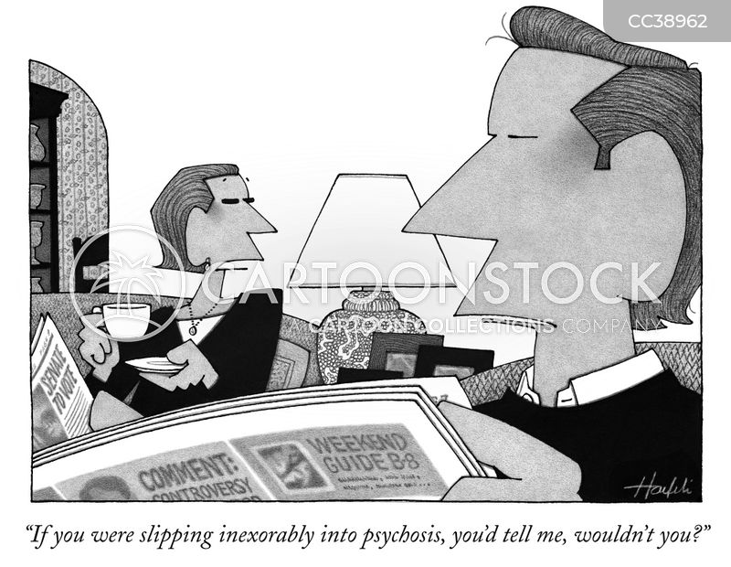 Psychosis cartoon