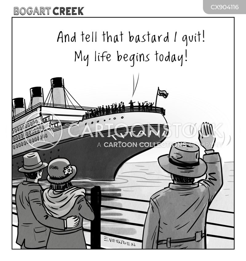 maritime disaster cartoon