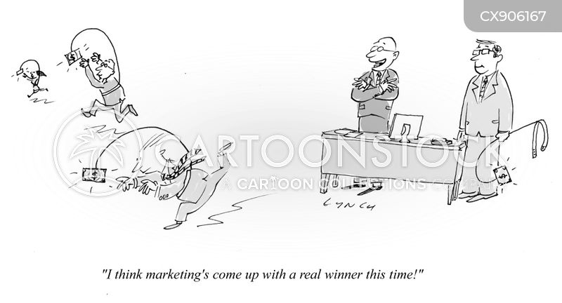 marketing departments cartoon