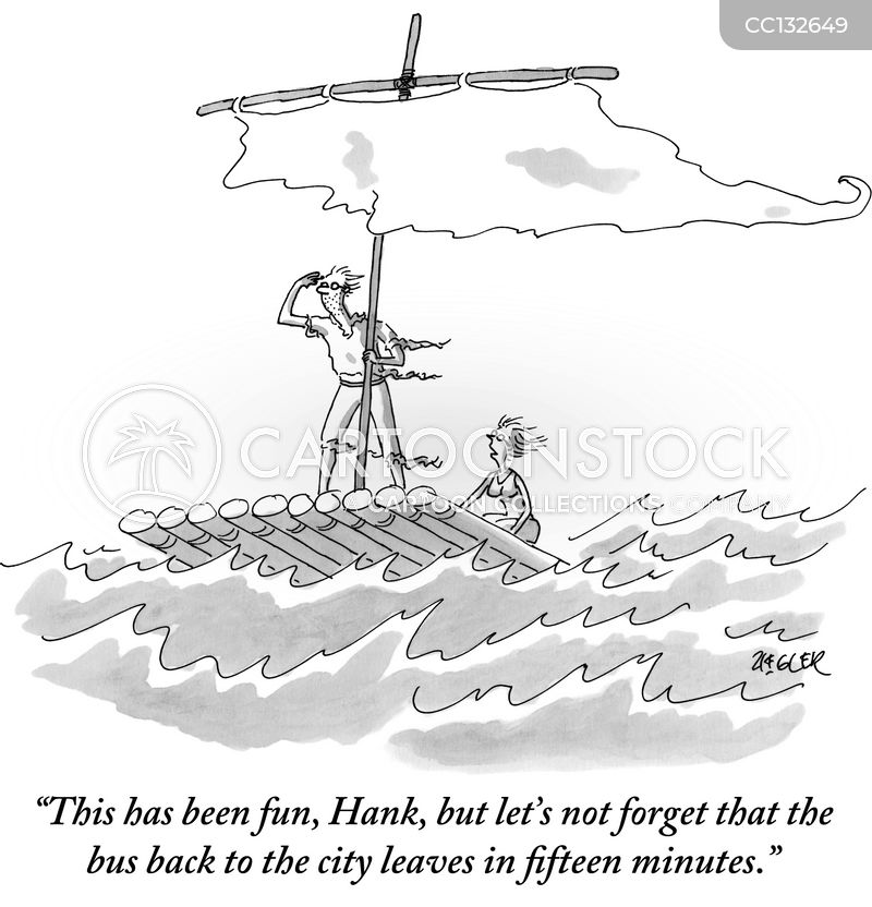 sailing cartoon