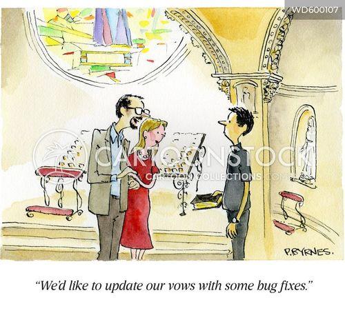 renewing vows cartoon