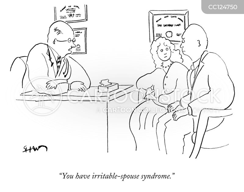 irritable cartoon