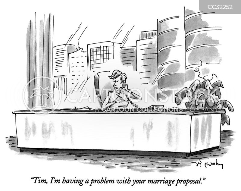 engagements cartoon