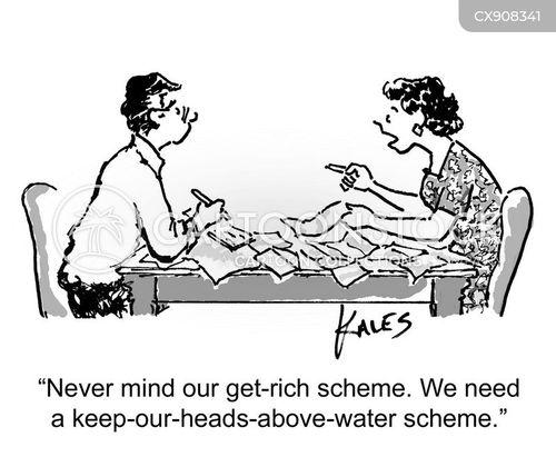 money issues cartoon