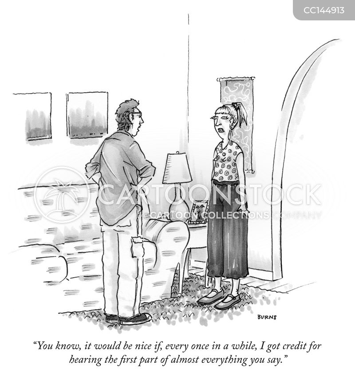 bad listener cartoon