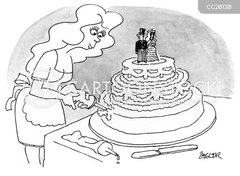 cake maker cartoon
