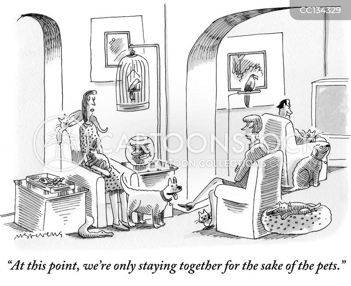 separated cartoon