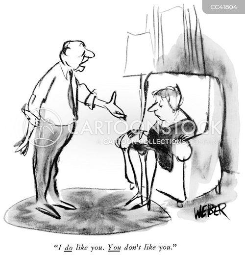 depress cartoon