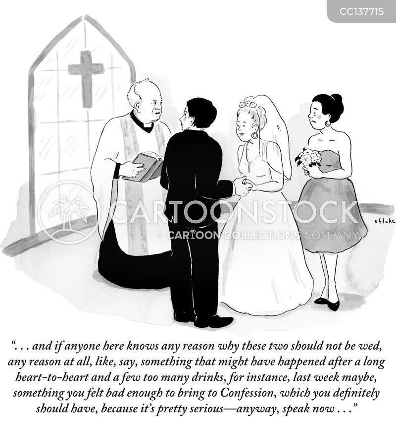 Priest cartoon