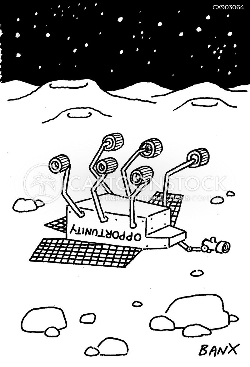 space exploration cartoon