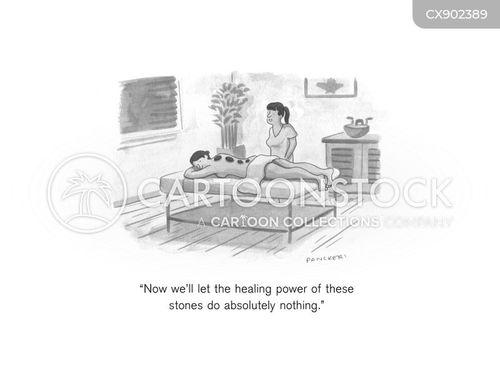 heal cartoon