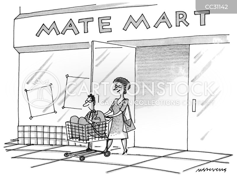 shopping trolleys cartoon
