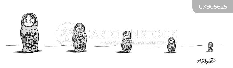 russian doll cartoon