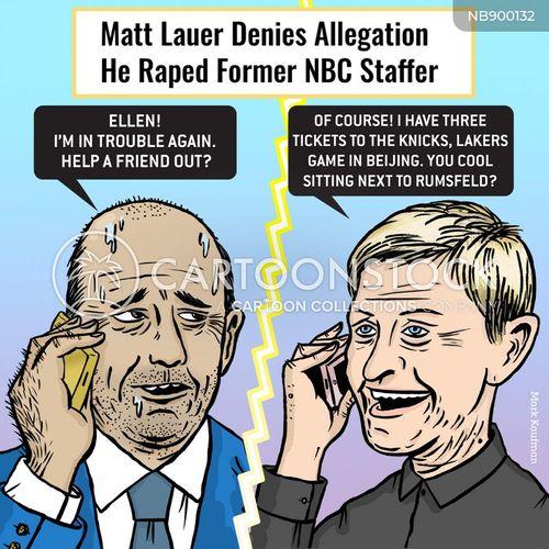 sexually harassed cartoon