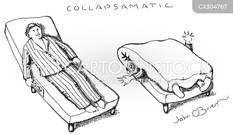 Collapsible Furniture cartoon