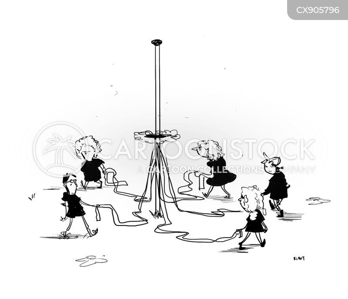 maypole cartoon