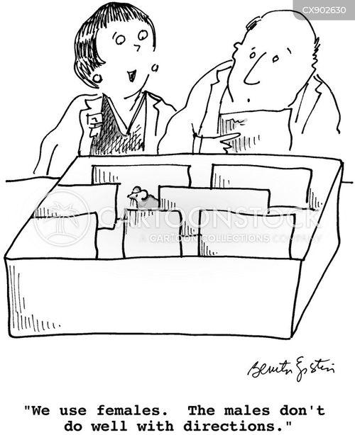 navigating cartoon