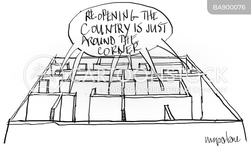 just around the corner cartoon