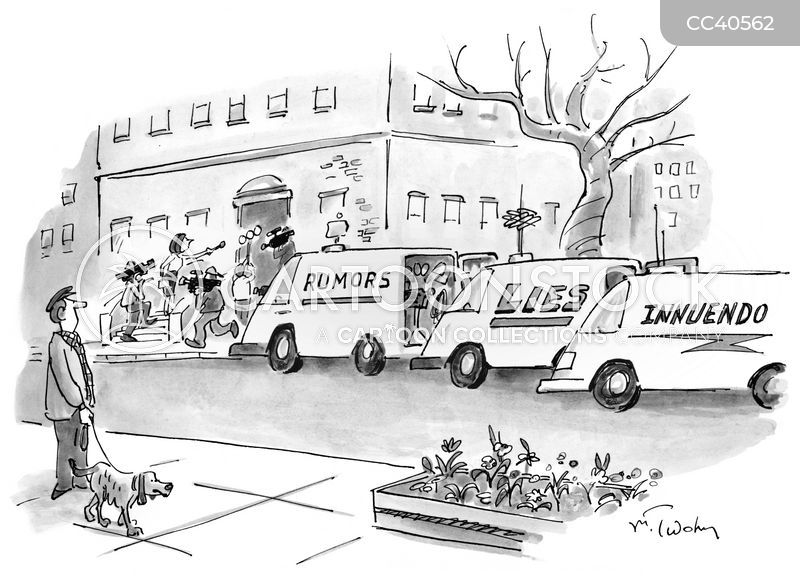 news van cartoon