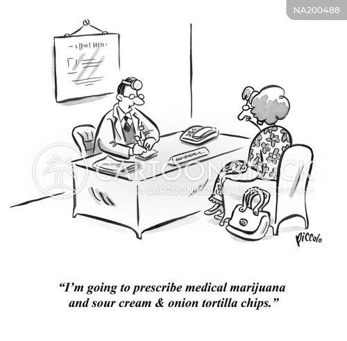 medical marijuana cartoon