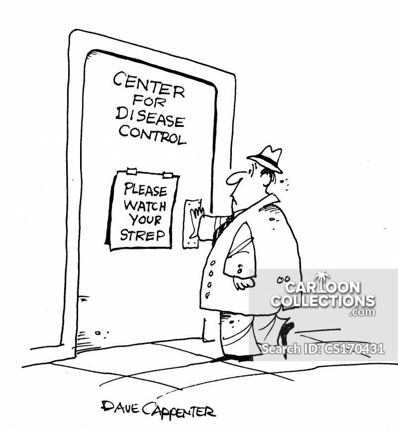 controlling disease cartoon