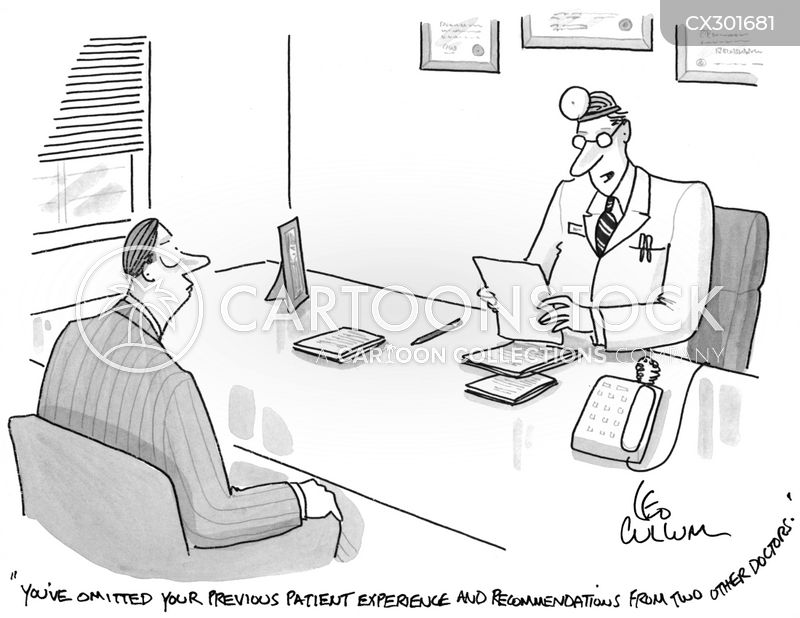 Doctor's Appointment cartoon