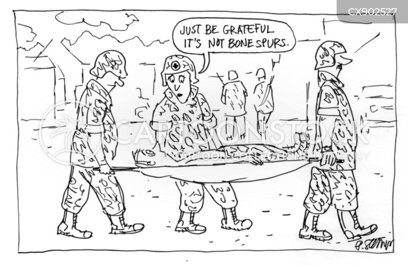 serious injury cartoon