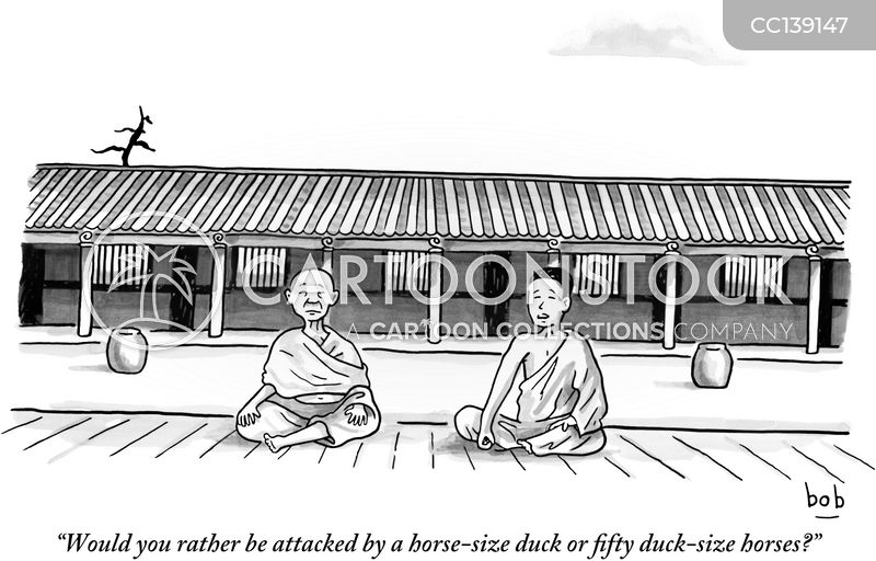 philosophical cartoon