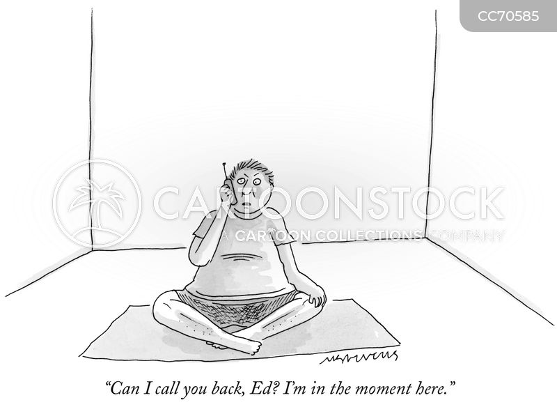 in the moment cartoon