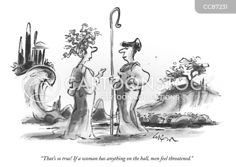 classical mythology cartoon