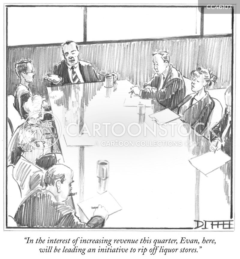 revenue cartoon