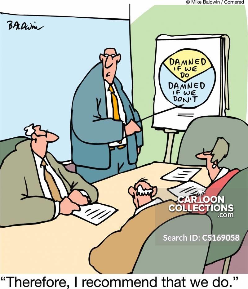 no-win cartoon