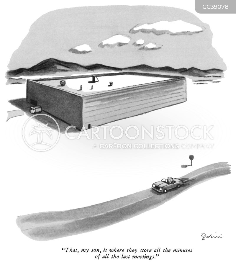 Remote Building cartoon