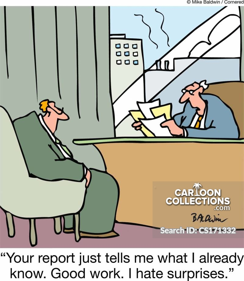 no surprises cartoon