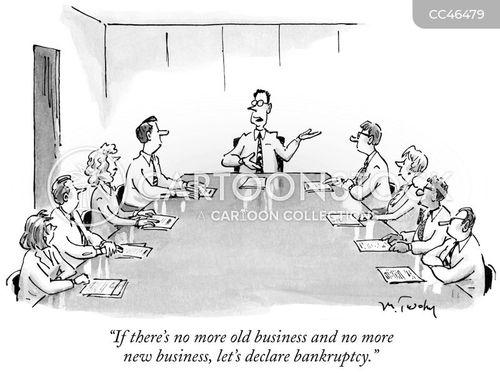 old business cartoon