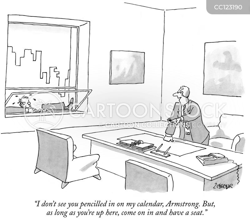 the corporate ladder cartoon