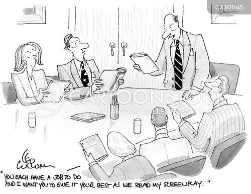 screenplays cartoon