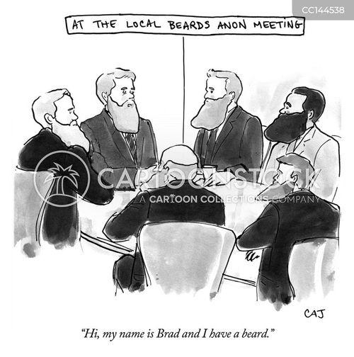 beard cartoon