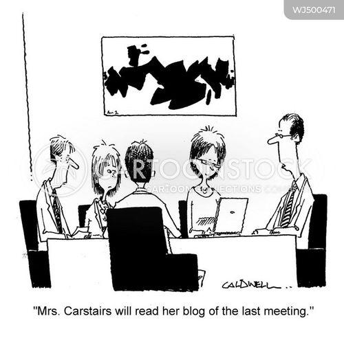 minutes cartoon