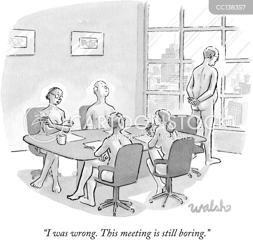 boring job cartoon