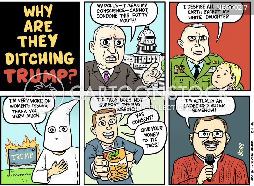 undecided voters cartoon